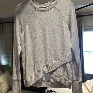 Athleta gray sweatshirt